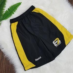 Reebok | Basketball Shorts Youth Yellow & Black